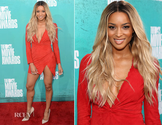 Ciara In Balmain - 2012 MTV Movie Awards