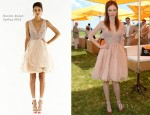 Coco Rocha In Dennis Basso - 5th Annual Veuve Clicquot Polo Classic