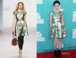 Crystal Reed In Issa London - 2012 MTV Movie Awards