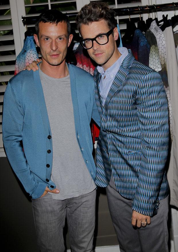 Jonathan Saunders and Brad Goreski