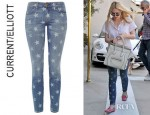 Dakota Fanning's Current/Elliott The Star Stiletto Jeans