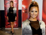 Demi Lovato In Topshop - The X Factor Oakland Auditions