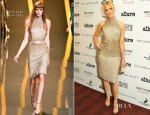 Elizabeth Banks In Elie Saab - 'People Like Us' New York Screening