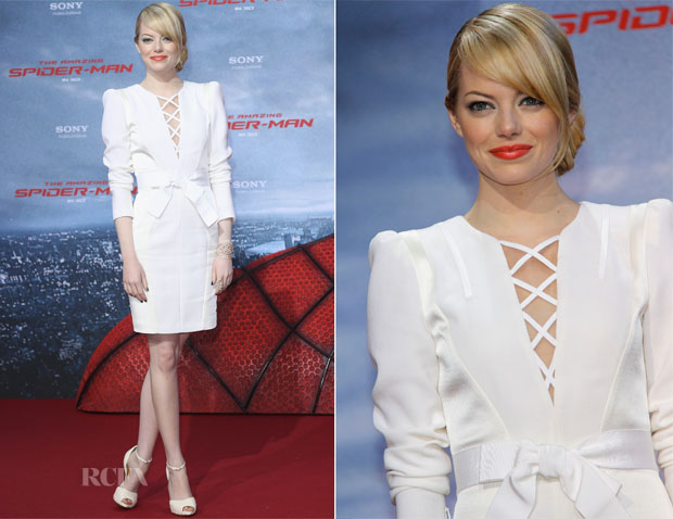 Emma Stone Andrew Gn Spider-Man Germany Premiere