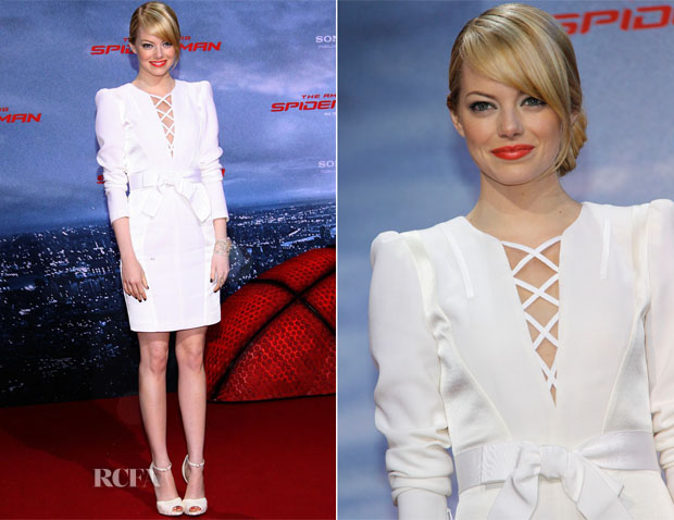 Emma Stone In Andrew Gn - 'The Amazing Spider-Man' Germany Premiere