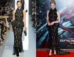 Emma Stone In Bottega Veneta - 'The Amazing Spider-Man' Rome Premiere