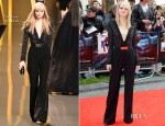 Emma Stone In Elie Saab - 'The Amazing Spider-Man' London Premiere