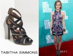 Emma Watson's Tabitha Simmons Gothic Sandals