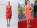 Eva Amurri In Monique Lhuillier - 'That's My Boy' LA Premiere