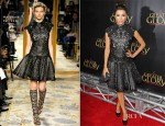 Eva Longoria In Marchesa - 'For Greater Glory' LA Premiere
