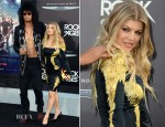 Fergie In Roberto Cavalli - 'Rock of Ages' LA Premiere
