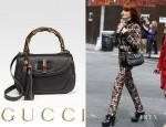 Florence Welch's Gucci New Bamboo Top Handle Bag