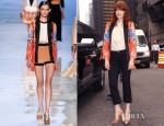 Florence Welch In Etro - Late Show with David Letterman