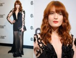 Florence Welch In Julien Macdonald - Britain Creates 2012: Fashion & Art Collusion VIP Gala