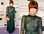 Florence Welch In Valentino - 14th Annual White Tie and Tiara Ball to Benefit Elton John AIDS Foundation
