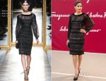 Freida Pinto In Salvatore Ferragamo – Salvatore Ferragamo Resort 2013 Presentation