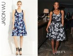Gabrielle Union's Jason Wu Floral Print Dress