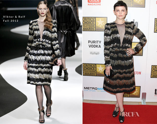 Ginnifer Goodwin In Viktor & Rolf - 2012 Critics' Choice Television Awards