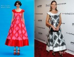 Hilary Swank In Marc Jacobs - 3rd Annual amfAR Inspiration Gala New York