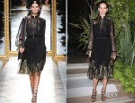 Hilary Swank In Salvatore Ferragamo - Salvatore Ferragamo Resort 2013 Presentation