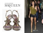 Jada Pinkett-Smith's Alexander McQueen Braided Sandals