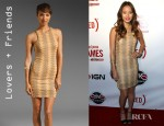 Jamie Chung's Lovers + Friends Lust Dress