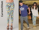 Jenna Dewan's Current/Elliott The Stiletto Jeans