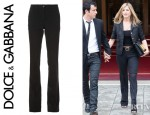 Jennifer Aniston's Dolce & Gabbana Boot Leg Trousers