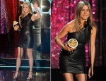 Jennifer Aniston In Valentino - 2012 MTV Movie Awards
