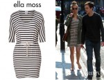 Jennifer Lawrence's Ella Moss Striped Dress