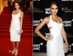 Jessica Alba In Narciso Rodriguez - Montblanc New And Biggest Concept Store World Premiere