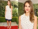 Jessica Alba In Tory Burch - 2012 Plush Event