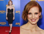 Jessica Chastain In Vintage YSL - 'Madagascar 3: Europe's Most Wanted' New York Premiere