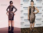 Jessica Pare In Prabal Gurung - 2012 Broadcast, Cable & Video Award Celebration