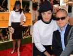 Jessica Stam In Thom Browne - 5th Annual Veuve Clicquot Polo Classic