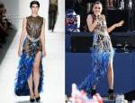 Jessie J In Falguni and Shane Peacock - Diamond Jubilee Concert
