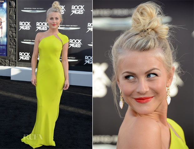 Julianne Hough In Kaufmanfranco - 'Rock Of Ages' LA Premiere