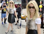 Julianne Hough In Kelly Wearstler - Times Square