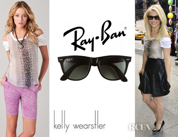 Julianne Hough Kelly Wearstler Ray-Ban