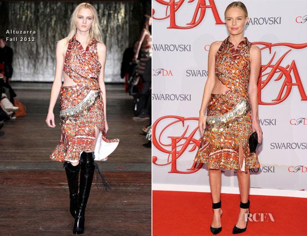 Kate Bosworth In Altuzarra – 2012 CFDA Fashion Awards