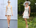 Katherine Jenkins In Richard Nicoll - Ladies' Day at Royal Ascot
