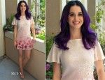 Katy Perry In Erin by Erin Fetherston - 'Katy Perry: Part of Me' Press Conference