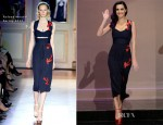 Katy Perry In Roland Mouret - Tonight Show with Jay Leno