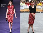 Keira Knightley In Christopher Kane – The Today Show