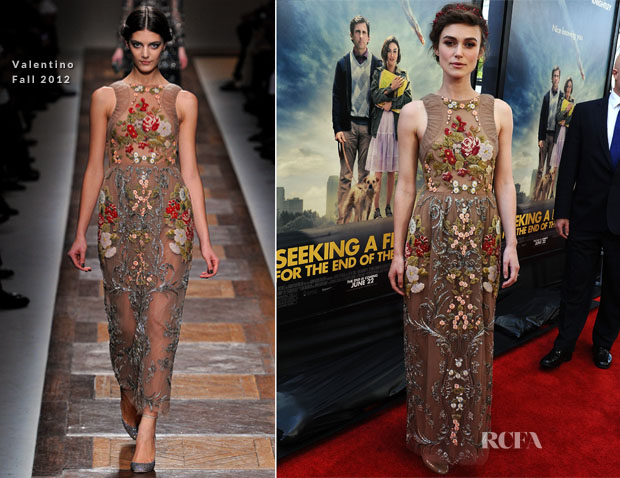 Keira Knightley In Valentino - 'Seeking A Friend For The End Of The World' LA Film Festival Premiere