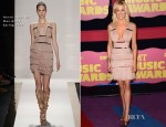 Kellie Pickler In Hervé Léger by Max Azria - 2012 CMT Music Awards