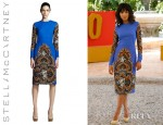 Kerry Washington's Stella McCartney Floral Long Sleeve Dress