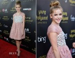 Kiernan Shipka In Miu Miu - 2012 Young Hollywood Awards