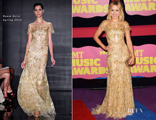 Kristen Bell In Reem Acra - 2012 CMT Music Awards