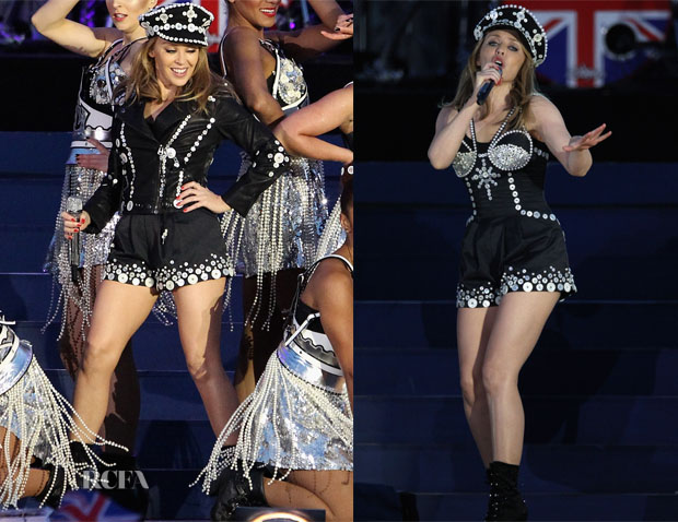 Kylie Minogue In Emilio Pucci - Diamond Jubilee Concert